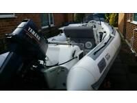 Rib boat Avon seasport 4.25