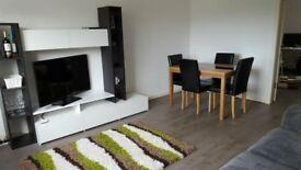 Black and White Living Room Furniture Set