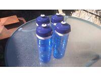 Elite Corsa Hygene 750ml Water Bottles BRAND NEW