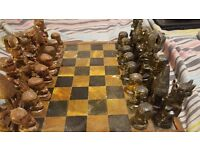 Soap Stone Chess Set From Zimbabwe