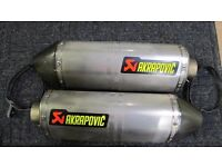 KTM Akrapovic exhaust system
