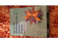 Mathematics A Linear higher gcse book