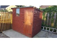 Pent shed 7ft x 5ft