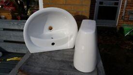 Bathroom/toilet basin