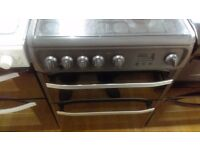 HOTPOINT 60Cm Gas Cooker in Ex Display which may have minor marks or blemishes.