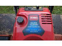 Toro snow blower