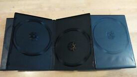 20x Double DVD Cases 14mm Spine
