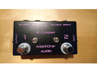 AB Box - Mark One Audio Looper 2 to switch between 2 loops