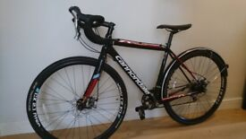 Cannondale CAADX Tiagra Cyclocross CX bike perfect for commuting bike disc brakes Size SMALL