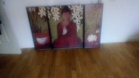 Canvas Budhha