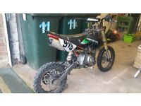 Stomp Pitbike 125cc for sale.