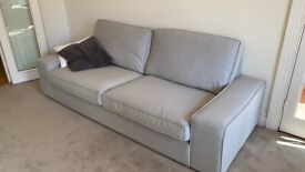IKEA KIVIK sofa (new cover!)