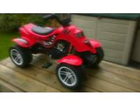 Falk Red Pirate Quad Bike