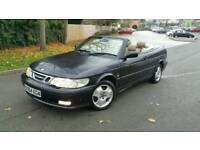 Saab 9-3 turbo petrol convertible hpi clear excellent drive