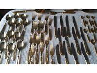 Gold PL Cutlery