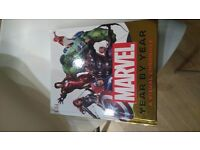 DK Marvel Year By Year A Visual Chronicle Hardback Collectors Book Stan Lee