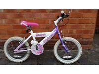 Girls Bike Raleigh Sunbeam Flutter 16 inch wheel (Solihull)