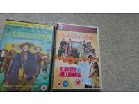 Lady in the Van / Best exotic Marigold hotel and Slumdog Millionaire DVDs