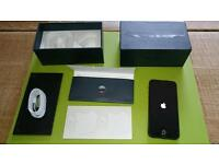 Apple iPhone 5 16gb Rare Black Colour - good condition - Unlocked - Similar to 5s and 5c