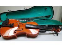 1/2 size childs violin