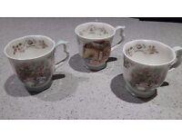 Brambly hedge royal doulton china cups