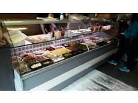 Nearly new serve over display fridge