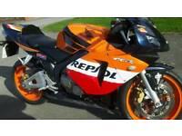 Honda repsol cbr600cc sports