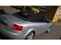 AUDI A4 Diesel Convertible £1850 only REDUCED!!!