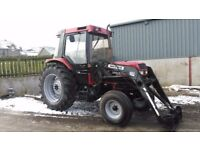 1991 case international 895 xl with loader £6500