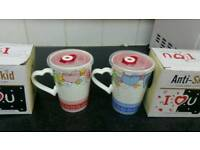 Anti Skid Ice Cream Mugs