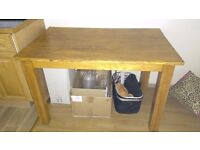 Dinning table, solid wood