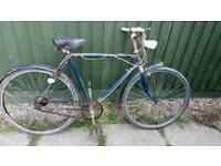 Vintage mans BSA bicycle, 1960s