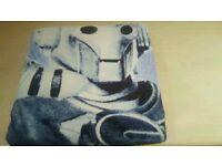 Dr Who/ Cyber man beach towel