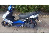 125 scooter for sale x reg unrecorded