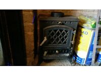 wood burner, flue and accessories for sale