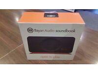 Bayan Audio Soundbook Classic- Bluetooth Portable Stereo / Brand New