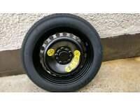 Ford space saver spare wheel with new tyre C-Max S-Max Focus Galaxy