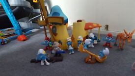 ( Collection 8 ) kids toys smurfs / wonder pets