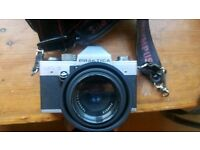 Praktica LTL3 camera with case & accessories