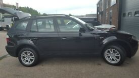 BMW X3 2.0 Automatic Ruby Black 5dr Diesal - Looking for a Quick Sale