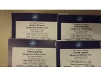 Ariana Grande, Dangerous Woman Tour, 26th May 2017 at the O2 London. Block 418 Row T