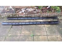 Mercedes S Class S500 S320 W221 Genuine Black LWB Side Skirts_ Other parts available