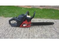 Jonsered petrol chainsaw