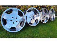 17's Classic Genuine alloys RH TOPLINE 17s pcd 5x120 J8,5/J10 VW T5, BMW Models