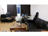 SOUNDPROOF CREATIVE SPACE REHEARSAL ROOM RECORDING STUDIO AND STORAGE AVAILABLE