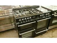 Neworld 100cm dual fuel range cooker