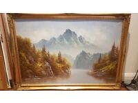 Mountain painting - DELIVERY AVAILABLE