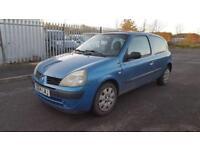 2004/04 Renault Clio Expression 1.2 16v 3dr Hatchback