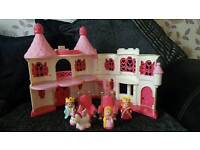 ELC Happyland princess castle £10