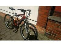 Saracen Lightweight mountain bike, with Shocks, £75ono